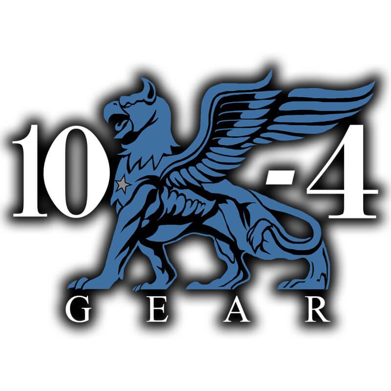 10-4 Gear Logo