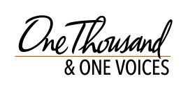 One Thousand & One Voices Logo