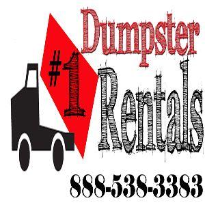 #1 Dumpster Rentals Logo