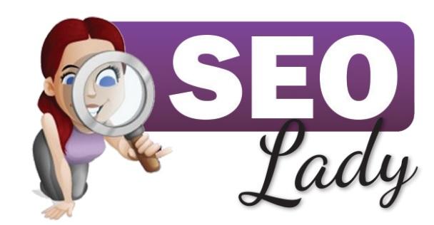 SEO Lady Logo