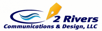 2 Rivers Communications & Design, LLC Logo