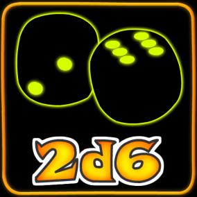 2d6 Games Logo