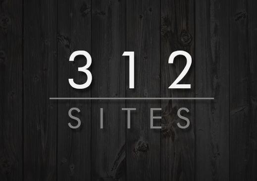 312 Sites Logo