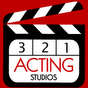 3-2-1- Talent Showcase Acting Studios Logo