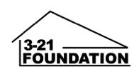 3-21 Foundation, Inc. Logo