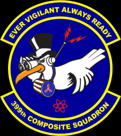 399th Danbury Squadron Civil Air Patrol Logo