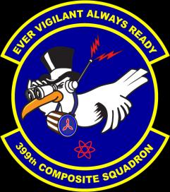 399th Composite Squadron Civil Air Patrol Logo