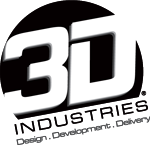 3D Industries Logo