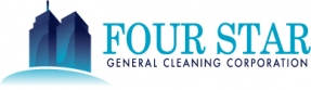 Four Star General Cleaning Logo