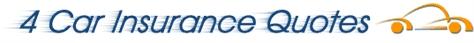 4 Car Insurance Quotes Logo