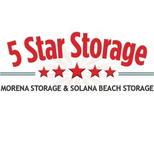 5 Star Storage Logo