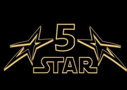 5 Star Taxi Logo