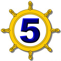 5 Minute Dharma Logo