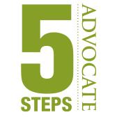 5 STEPS Advocate Logo