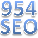 Local Business Optimization - 954 SEO Logo