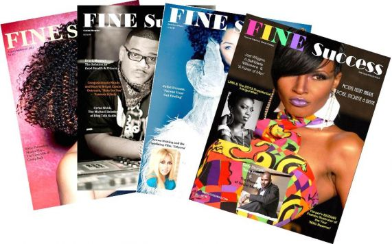 Fine Success Magazine - A4J Publishing Logo