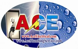 Ace Electrical & Ace Plumbing Service Logo