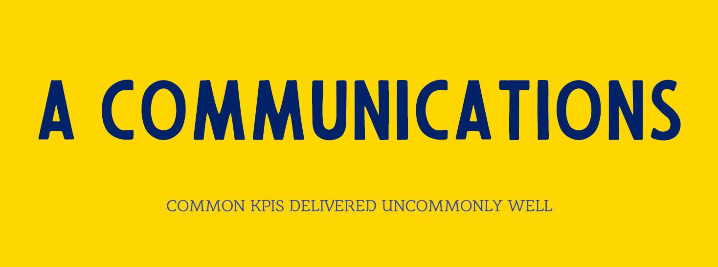 A Communications Logo
