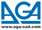AGA CAD Ltd. Logo