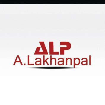 A LAKHANPAL Logo