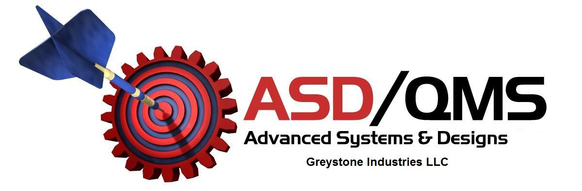 ASDQMS (Advanced Systems & Designs) Logo