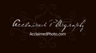 AcclaimedPhotography Logo