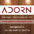 Web Design company - Adorn Consultants P Ltd Logo