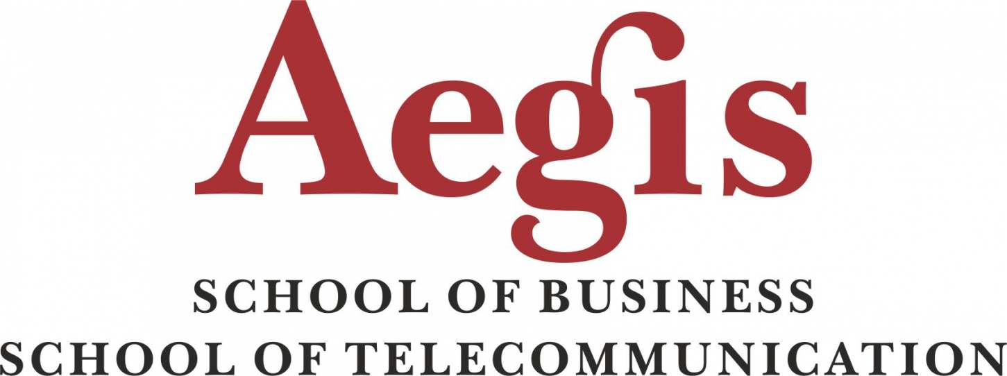 Aegis School of Business and Telecommunication Logo