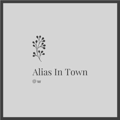Alias In Town Logo