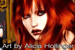 Alicia Hollinger's Art Logo