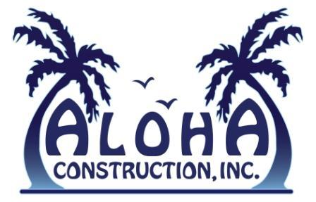 Aloha Construction, Inc. Logo