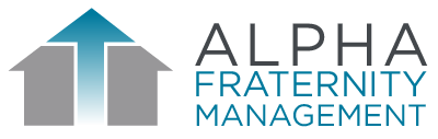 Alpha Fraternity Management Logo