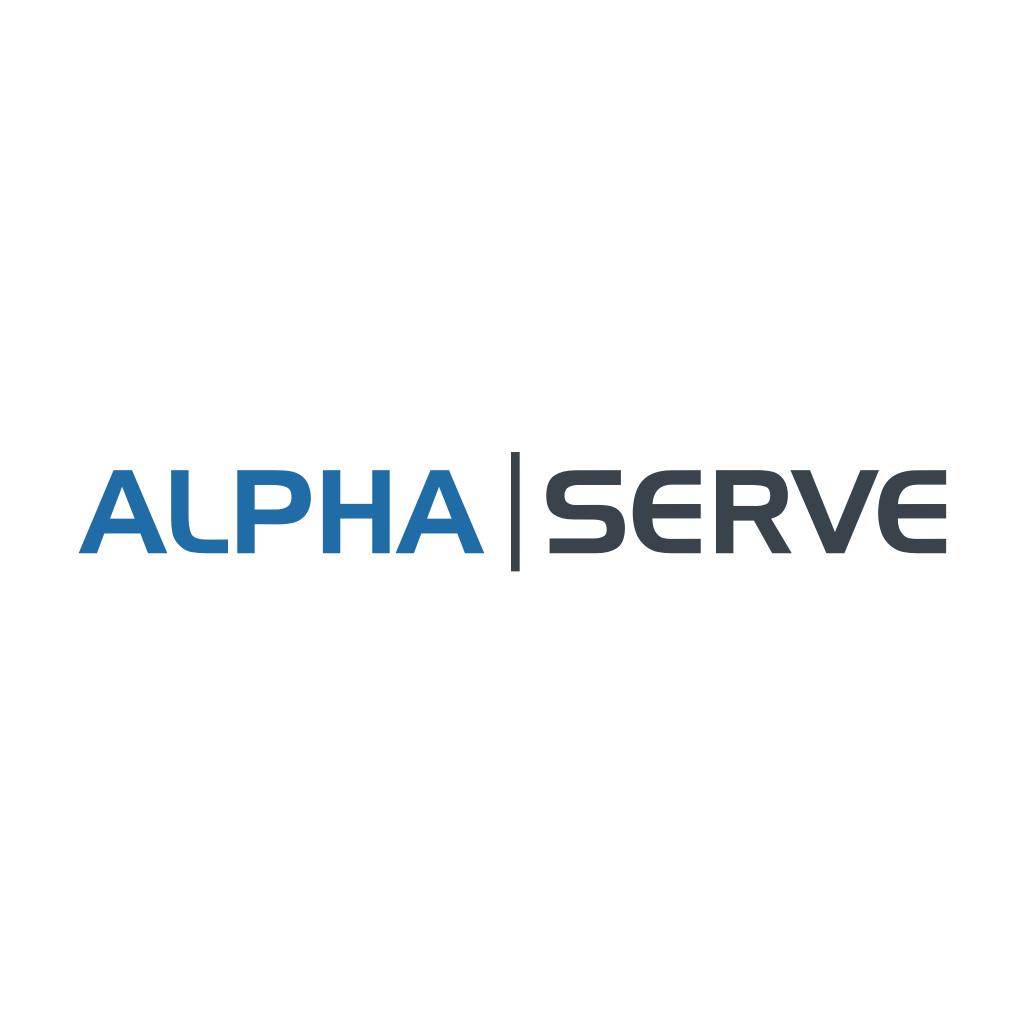 Alpha Serve Logo