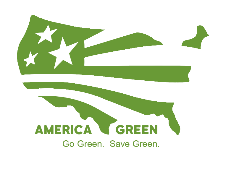 America Green Solar Logo