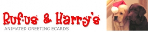 Rufus And Harry's Animated Greeting Cards Logo