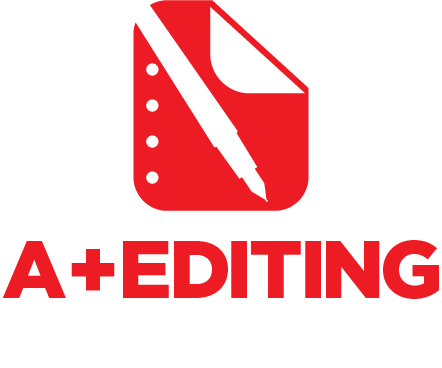 A+ Editing & Content Creation Logo