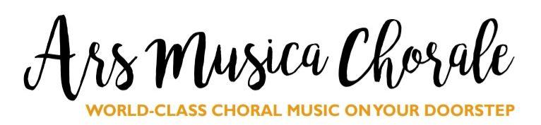 Ars Musica Chorale Logo