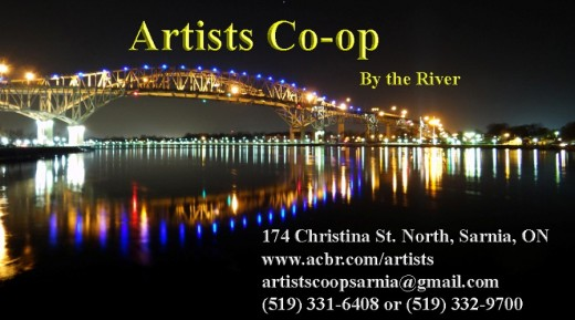 Artists Co-op By the River Logo