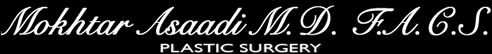 Mokhtar Asaadi, MD, FACS Plastic Surgery Logo