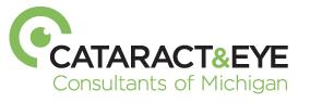 Cataract and Eye Consultants of Michigan Logo