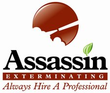 Assassin Exterminating Inc. Logo