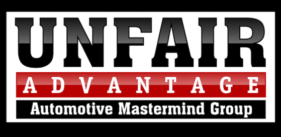 Unfair Advantage Automotive Mastermind Group Logo