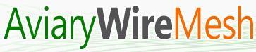 Aviary Wire Mesh Logo