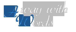 AwayWithWordz Logo