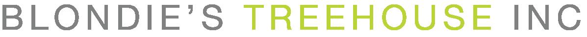 Blondie's Treehouse Logo