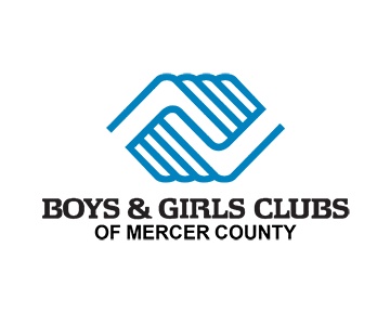 Boys & Girls Clubs or Mercer County Logo