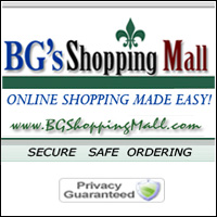 BG's Shopping Mall Logo