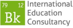 BK International Education Consultancy Logo