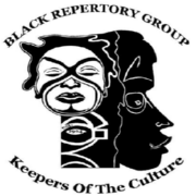 Black Repertory Group - Birel L. Vaughn Theater Logo