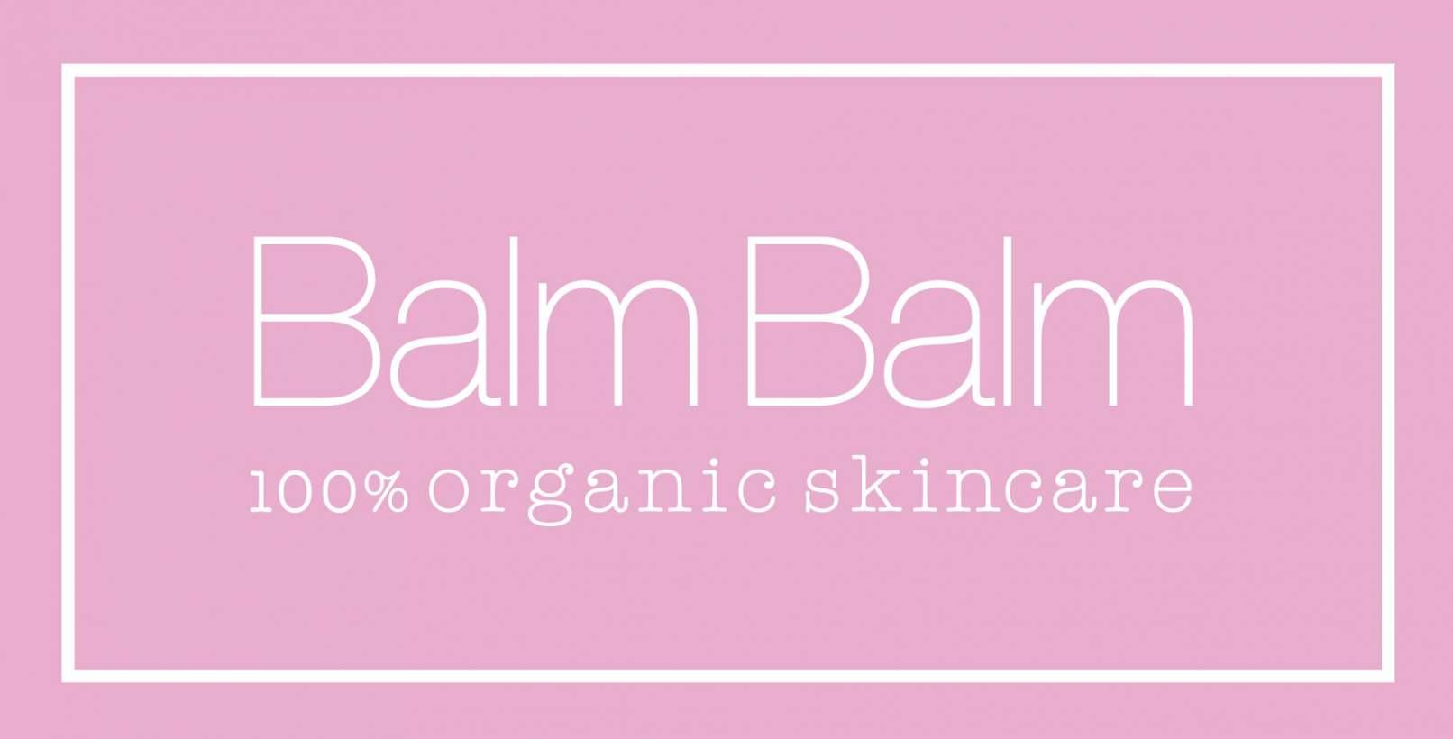 Balm Balm 100% organic skincare Logo
